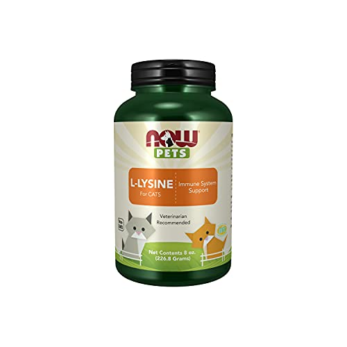 Top 10 best selling list for now pet health l-lysine supplement powder formulated for cats
