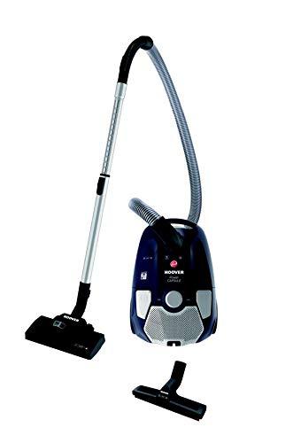 Hoover PC10PAR 011 39001655, Bodenstaubsauger mit Beutel, Luxor Schwarz, 550 W, 72 Dezibel