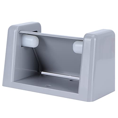 Portarrollos, Portarrollos Diseño humanizado Material ABS Portarrollos de papel higiénico Instalación de pared con tornillo para baño Cocina, WC(grey)