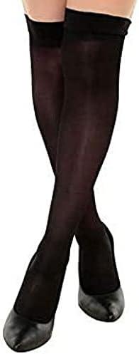 Sexy tights with silicone band Carla Conti Silk