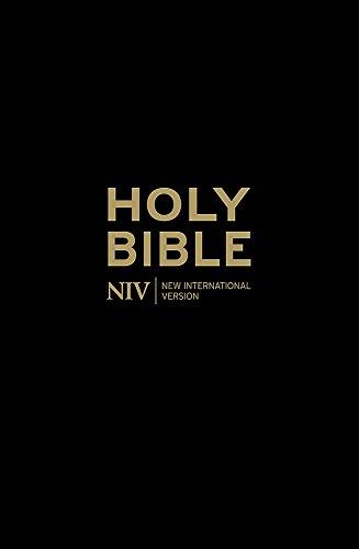 NIV Popular Cross-Reference Black Leather Bible
