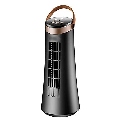 Ventilador eléctrico del ventilador de torre,refrigerador portátil sin hojas de la torre vertical del ventilador de la silenciosa ventilador de piso sin sentido para el hogar y la oficina, electronic