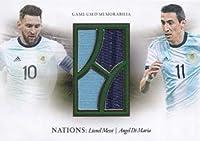メッシ&ディマリアLionel Messi&Angel Di MariaFutera Unique 2020 ジャージカード 17枚限定 LastNo ホビーアイテム