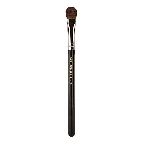 Bdellium Tools - Pennello occhi da sfumatura, professionale e antibatterico, grande e affusolato, linea Maestro