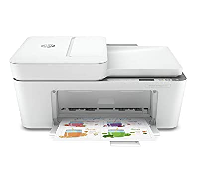 HP DeskJet Plus 4120 All-in-One Printer with Wireless Printing, Instant Ink with 3 Months Trial, White