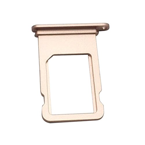 Best Shopper - iPhone 7 Plus 5.5 Replacement Sim Card Tray Reader Holder Slot - Rose Gold