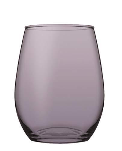 Pasabahce Vaso Cristal Amber 350cc. 6 un. púrpura