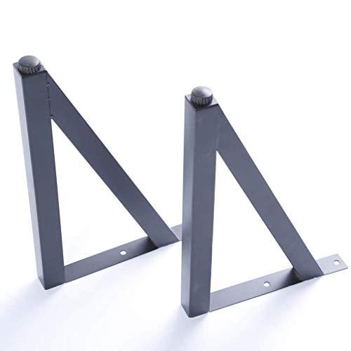 YXB 4 STKS meubels voet metalen driehoek ondersteuning voetkast voet bank salontafel tafelpoten/zwart/20-30cm duurzaam 20CM, belasting 300kg, gebruikt in bedden, banken, kasten en andere meubels