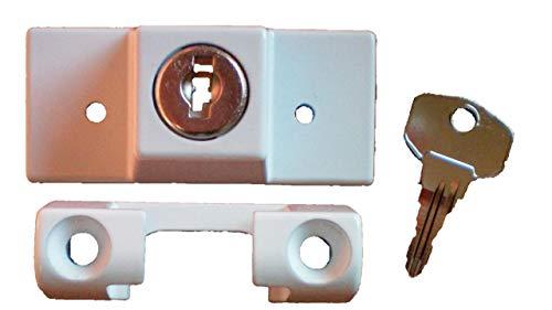 Siegenia Drehsperre Zylinder weiß - Fenstersicherung