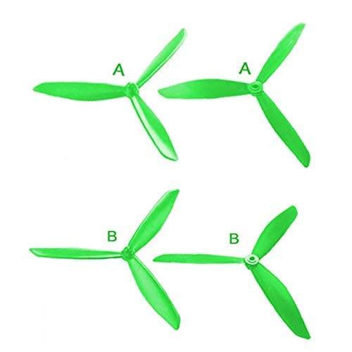 Nuovo CYM-ARC VS M-JX Bugs 2 B2C B2W Parti di eliche semoventi triangolari aggiornate Quadcopter RC Drone Accessori Verde