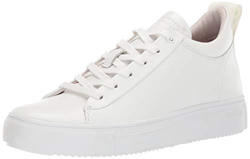 Blackstone Damen RL65 Hohe Sneaker, Weiß (White Whit), 40 EU