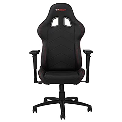 GT OMEGA PRO Racing Gaming Chair with Ergonomic Lumbar Support - PVC Leather Reclining High Back Home Office Chair with Swivel - PC Gaming Desk Chair for Ultimate Racing Experience