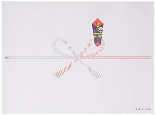 オキナ のし紙 祝切手 100枚入 N210