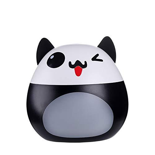 Dingong Humidificateur, 200ML USB humidificateur d'air silencieux diffuseur ultrasonique changeant cute LED lumière de nuit (Noir)