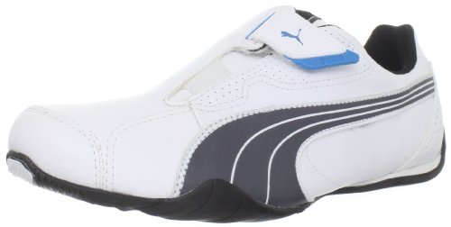 PUMA , Sneaker Uomo, (White/Dark Shadow/Black), 45 EU