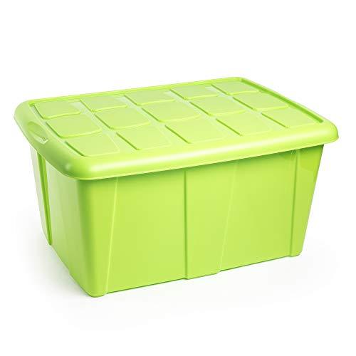 Cajas Almacenaje Plastico 60L Marca Plastic Forte