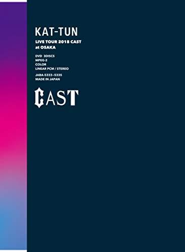 [画像:KAT-TUN LIVE TOUR 2018 CAST (DVD初回生産限定盤)]