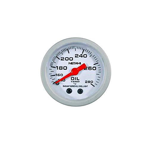 "NETAMI NT-0321 2"" Face Glow Oil Temperature Machanical Gauge Meter"