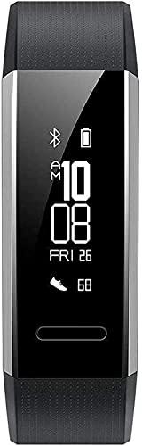 Rastreador de actividad con monitor de ritmo cardíaco, pulsera inteligente impermeable con contador de calorías de paso monitor de sueño podómetro reloj de salud