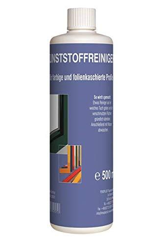FENOPLAST Fenosol Dekor Intensivreiniger & Konservierer 500 ml für Fenster, Türen, Rollladen und Brüstungen aus PVC-Struktur, farbig, folienkaschiert und beschichtet