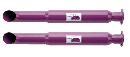 Flowtech 50232FLT Purple Hornies Slip-Fit Muffler
