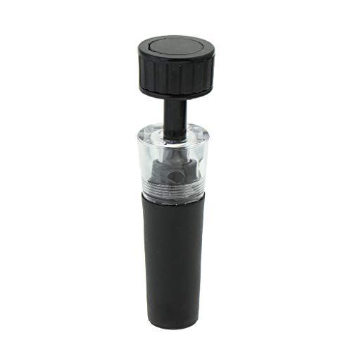 MagiDeal Tapones de Vino de Acrílico con Bomba de Conservación de Preservación de Tapón de Botella de Vino