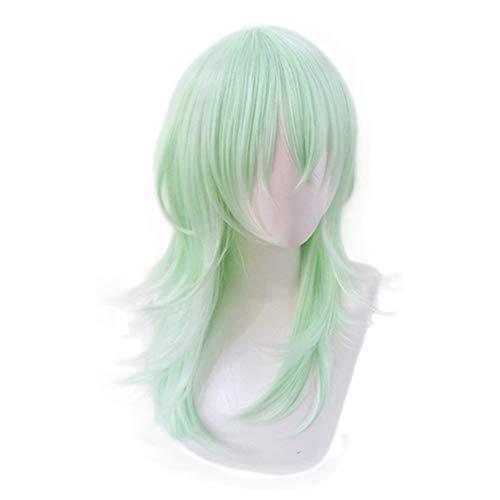 Xingwang Queen Anime Cosplay Wig Long Light Green Women Girls' Party Wigs