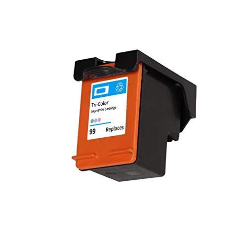 DYYPPWW Compatible 99XL Cartucho de Tinta, Alto Volumen de Impresión Reemplazo,para HP Officejet 6208 6300 6310 6318 7208 Impresora