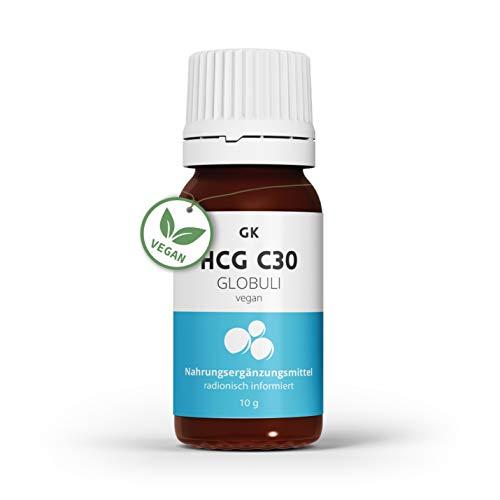 HCG C30 Globuli für deine 21-Tage Stoffwechselkur – schnell dank radionisch informierter HCG Diät - Leptin in HCG Globuli - hergestellt in Deutschland