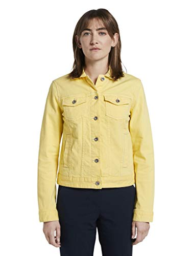 TOM TAILOR Damen Jacken Jeansjacke Jasmine Yellow,L