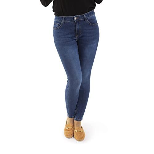 jeans donna elasticizzati Trendcool Pantaloni Donna Vita Alta. Legins da Donna. Jeans Skinny Push Up. Pantaloni Strappati