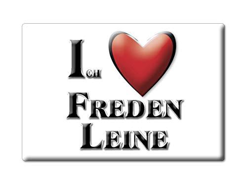Enjoymagnets FREDEN Leine (NI) Souvenir Deutschland Niedersachsen Fridge Magnet KÜHLSCHRANK Magnet ICH Liebe I Love