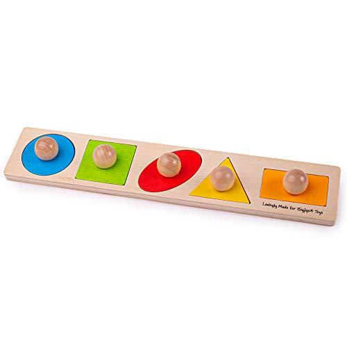 Bigjigs Toys Shape Matching Board