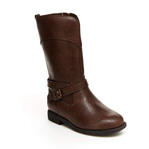 Stride Rite Girls Classic Fashion Boot, CHOCOLATE, 9 Toddler