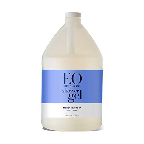 EO Skin Conditioning Shower Gel: French Lavender, 128 Ounce Refill