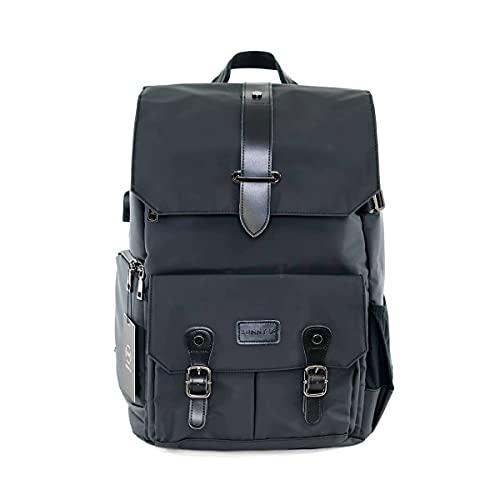 XVI SUNNY 16 Voyager 31L Anti-Theft DSLR Travel Camera Backpack for Men and Women (Tarpaulin, Black)