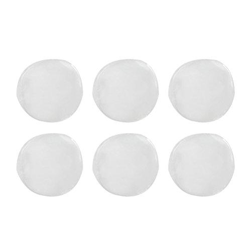 healifty 6pcs Drum Dampening Gel Pad Tone Control Drum Mute