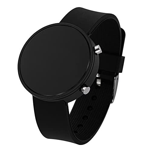 JSJJQAZ smart watch Vrouwen Horloges Mannen Sport Horloges Elektronische Klok Horloge Dames Digitaal Horloge (Kleur: Zwart zwart)