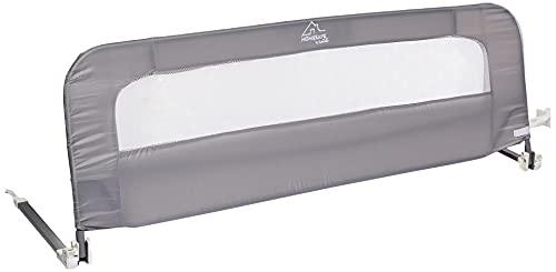 Summer Infant Summer Extra Long Folding Single Bedrail, Grey