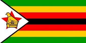Simbabwe-Flagge 150cm x 90cm