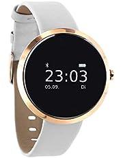 X-Watch 54 Siona Smartwatch, Polar White