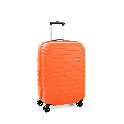 Roncato Fusion Valigia, 65 cm, 70 liters, Arancione (Naranja)