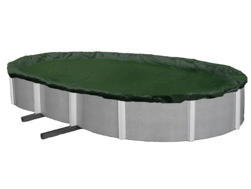 Blue Wave BWC836 Silver 12-Year 21-ft x 41-ft Oval Above Ground Pool Winter Cover,Forest Green -  Blue Wave Products