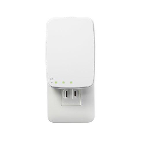 I-O DATA Wi-Fi 無線LAN ルータ 中継機 11ac/n/a/g/b 867Mbps コンセントタイプ WN-AC1167EXP