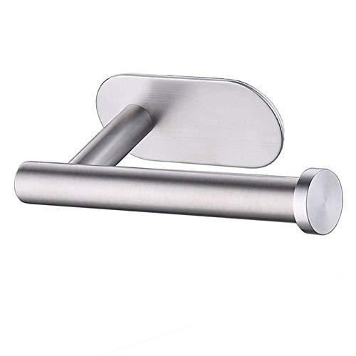 Soporte para Papel higiénico Autoadhesivo: Soporte para Papel higiénico de 3 m, Acero Inoxidable, sin Necesidad de taladrar, Fuerte adherencia y Resistencia al Agua.