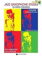 Jazz Saxophone Etudes Vol 1