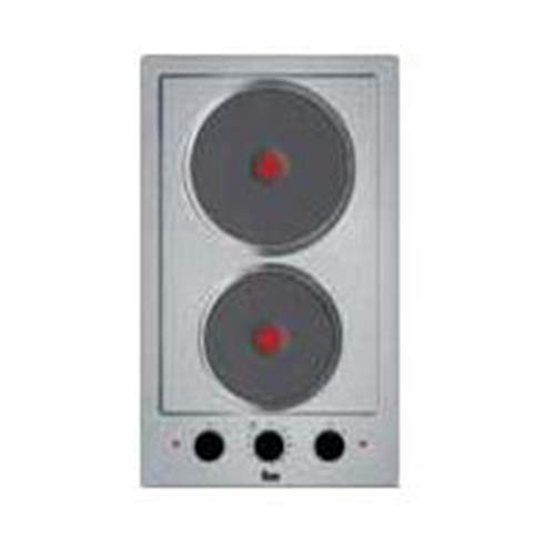 Teka EFX 30.1 2P Placa (Integrado, Hornillo eléctrico, Hierro fundido, Acero inoxidable, 1500 W, Alrededor)