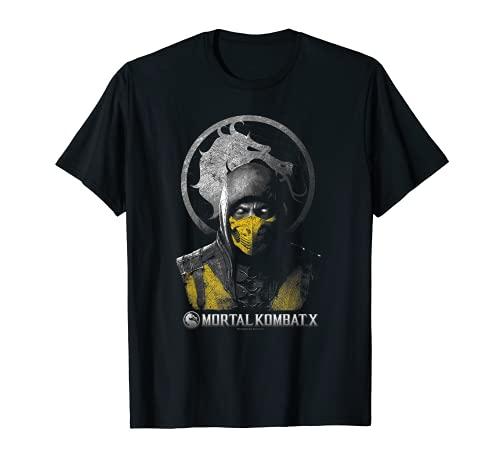 Mortal Kombat X Scorpion Bust T-Shirt