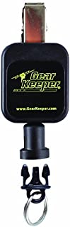 Gear Keeper RT5-5803 Micro Key/Tool Retractor with Spring Clip Mount, 50 lbs Breaking Strength, 2.5 oz Force, 36