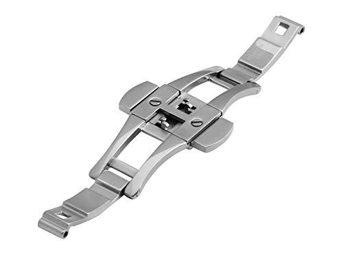 Uhrenarmband für Emporio Armani AR1400 AR1410 Stahl Silber 22 mm Schnalle